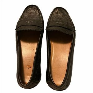 COACH Designer Leather Flat Loafers Size 8